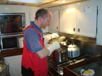 Neil creating Curry