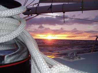 Sunrise North Atlantic style.
