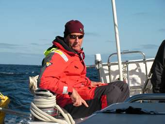 """Paul - """"A bad days sailing in better than a good day in the office!"""""""