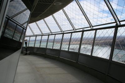 The Tower Has Two Restaurants At Its Top Lower Revolving Dining Room And Upper Summit Suite Buffet Seats 276 People