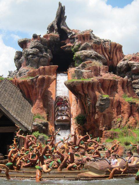 Log Flume Disney Target Was The Log Flume