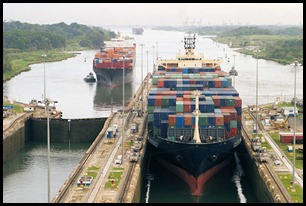 Panama Canal Big Girls