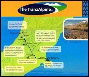 Beez Neez Tranzalpine Train