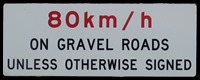 Gravel Road Speed Limit