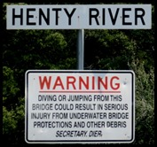 River warning
