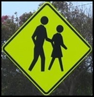 people crossing