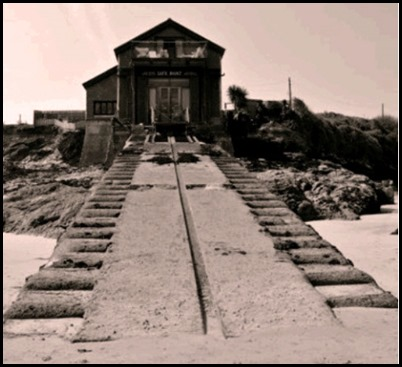 original Padstow Lifeboat Station at Hawkers Cove.