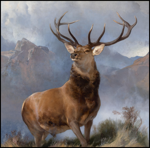 The_Monarch_of_the_Glen,_Edwin_Landseer,_1851