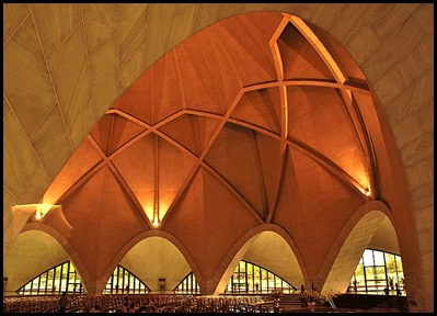 Interior_of_Lotus_temple by Dinudey Baidya
