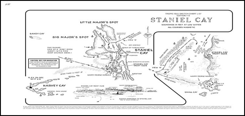 Nimue's Web Diary - 9th Mar - 16th Mar 2013 Staniel Cay, The